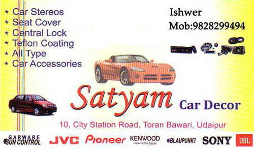 Satyam Car Decor