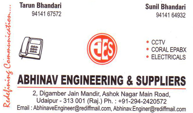 Abhinav Engineering And Suppliers