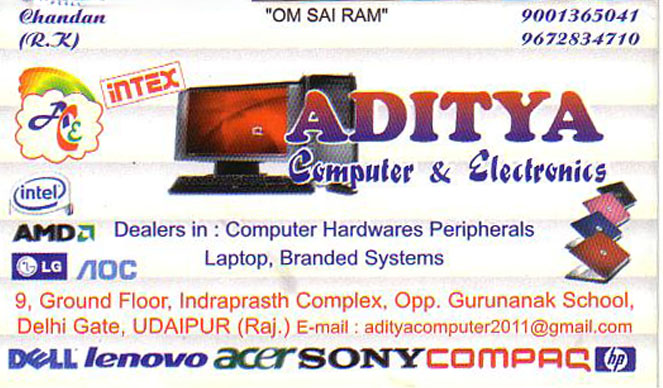 Aditya Computer And Electricals