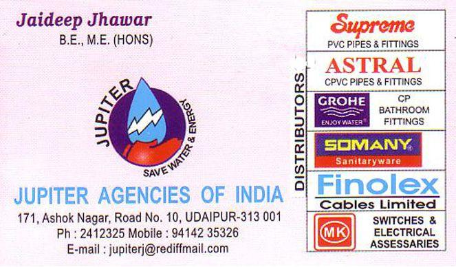 Jupiter Agencies of India