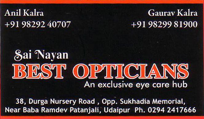 Best Opticians
