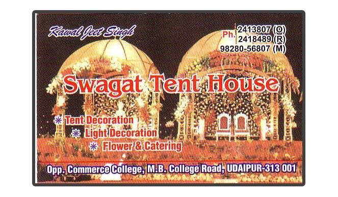 Swagat Tent House