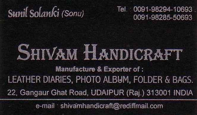 Udaipur Mart Shivam Handicrafts In Udaipur
