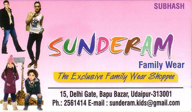 Sunderam Family Wear Shoppe