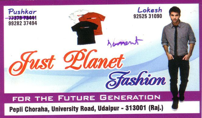 Just Planet Fashion