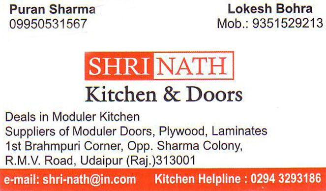 Shrinath Kitchen And Doors