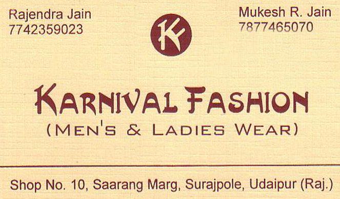 Karnival Fashion