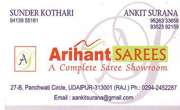 Arihant Sarees