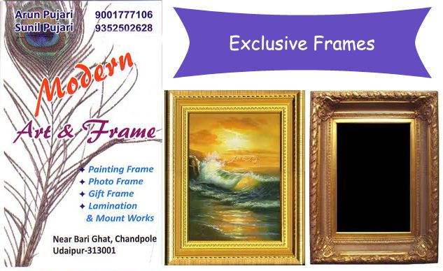 Modern Art & Frames