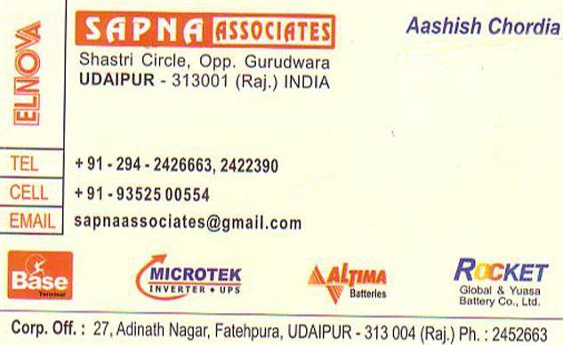 Sapna Associates