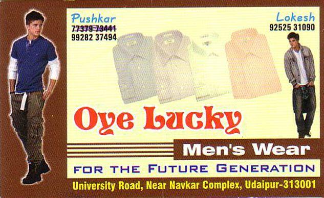 Oye Lucky Men's wear
