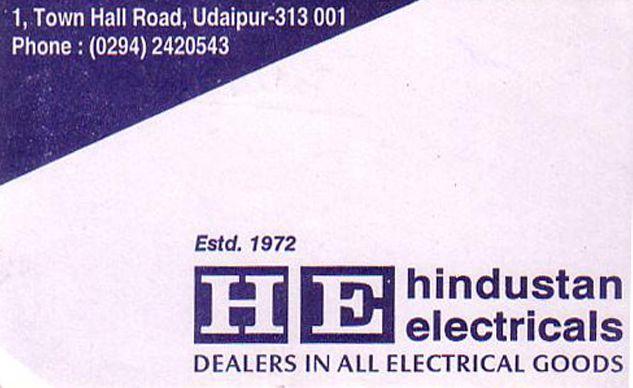 Hindustan Electricals