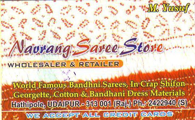 Navrang Saree Store