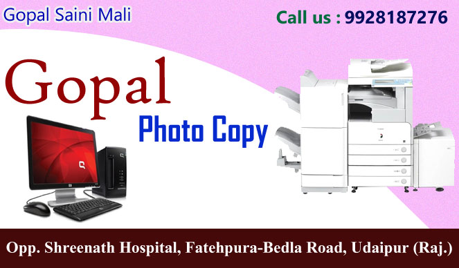 Gopal Photo Copier