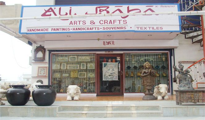 Ali Baba | Best Arts & Crafts Shops in Udaipur | Best Arts & Crafts Supply Stores in Udaipur