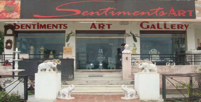 Sentiments Art Gallery | Best Arts & Crafts Shops in Udaipur | Best Arts & Crafts Supply Stores in Udaipur
