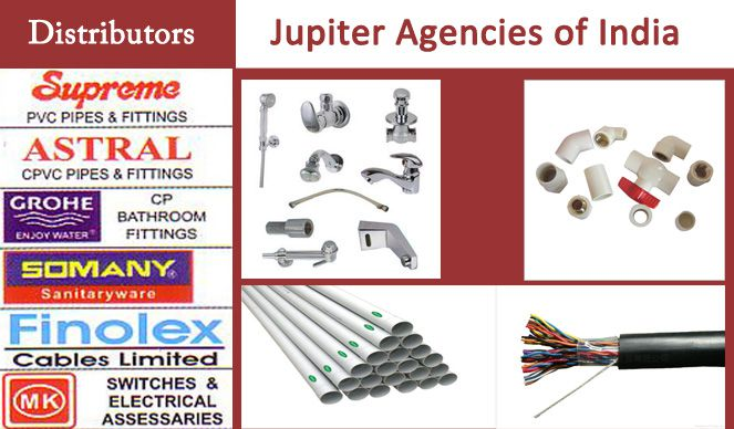 Jupiter Agencies of India | Best Sanitaryware Dealers in Udaipur | Best Hardware, Tiles Shops in Udaipur