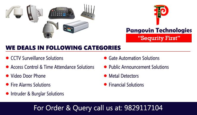 Pangovin Technologies | Best CCTV Dealers in Udaipur | Security System Udaipur