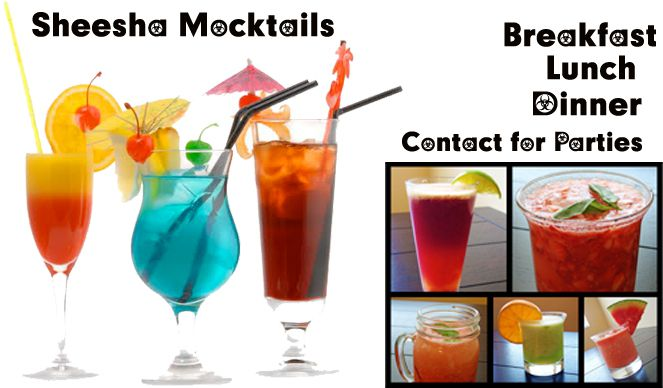 Sheesha Mocktails