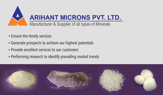 Arihant Microns | Mineral Dealers in Udaipur | Marble, Granite Dealers in Udaipur