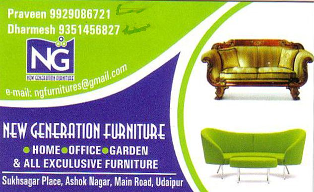 New Genration Furniture | Best Furniture Shops in Udaipur | Furniture Dealers in Udaipur