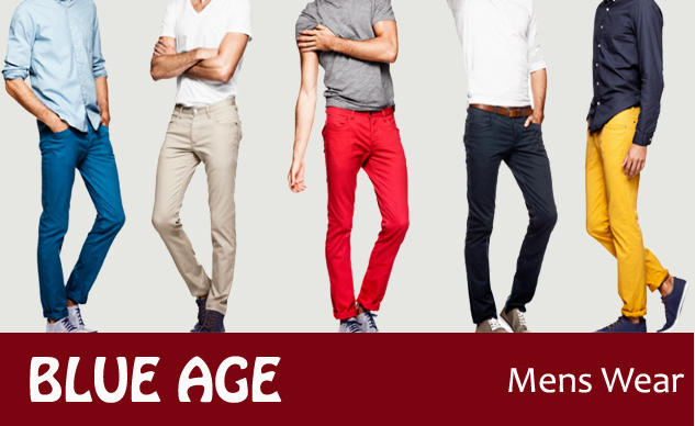 Blue Age Men's Wear | Best Fashion Clothing Stores In Udaipur | Best Cloth Shopping Markets in Udaipur | Best Boutiques in Udaipur