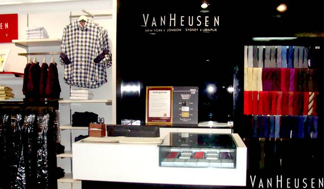Van Heusen | The Celebration Mall Udaipur | Best Shopping Destination in Udaipur | Best Mall in Udaipur