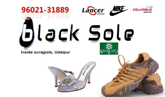 Black Sole | Best Shoes and Footwear Shops in Udaipur