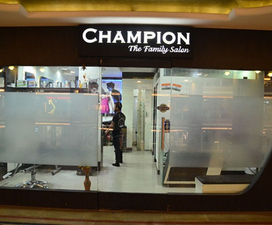 Champion Family Salon | The Celebration Mall Udaipur | Best Shopping Destination in Udaipur | Best Mall in Udaipur