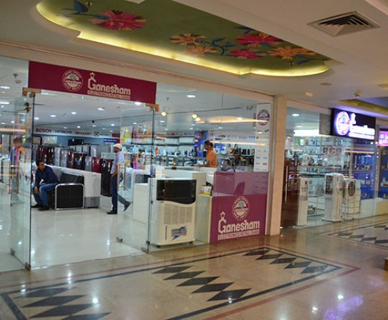 Ganesham Electronics | The Celebration Mall Udaipur | Best Shopping Destination in Udaipur | Best Mall in Udaipur