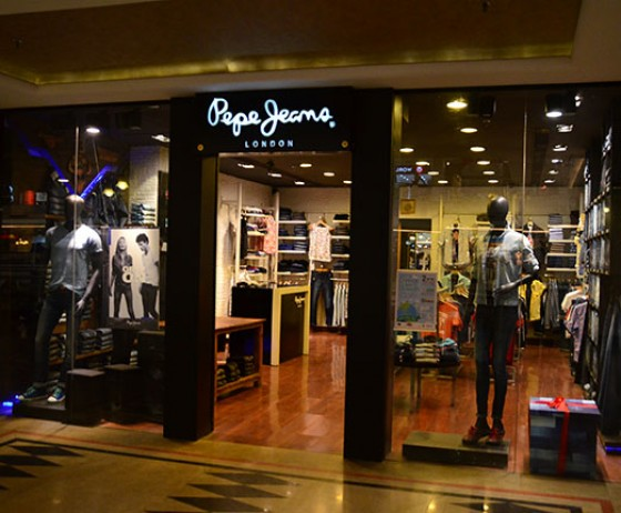 Pepe Jeans London | The Celebration Mall Udaipur | Best Shopping Destination in Udaipur | Best Mall in Udaipur