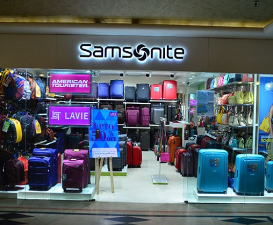 Samsonite | The Celebration Mall Udaipur | Best Shopping Destination in Udaipur | Best Mall in Udaipur