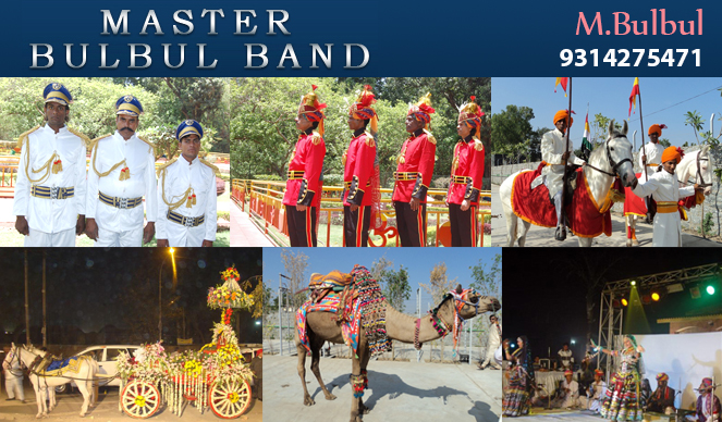 Master Bulbul Band | Best Events Management Services in Udaipur