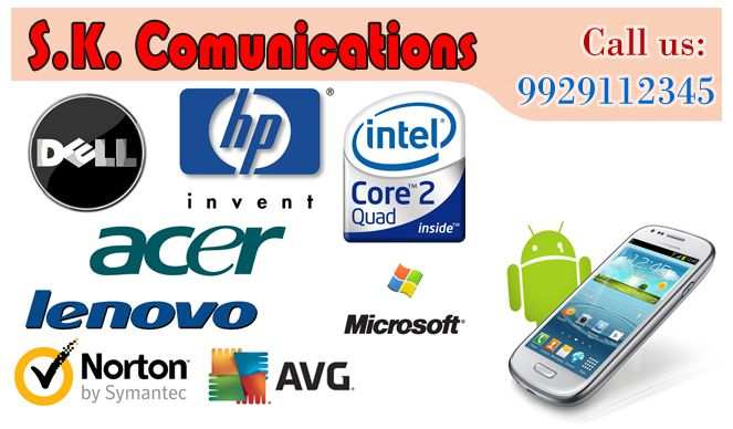 SK Communications | Best Computer Dealers and Services in Udaipur