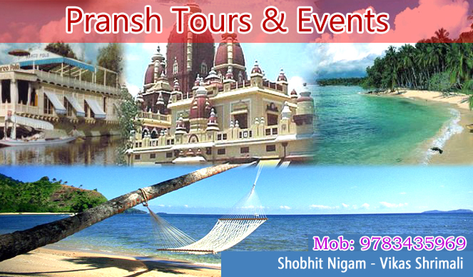 Pransh Tour And Events | Best Tours and Travels Services in Udaipur