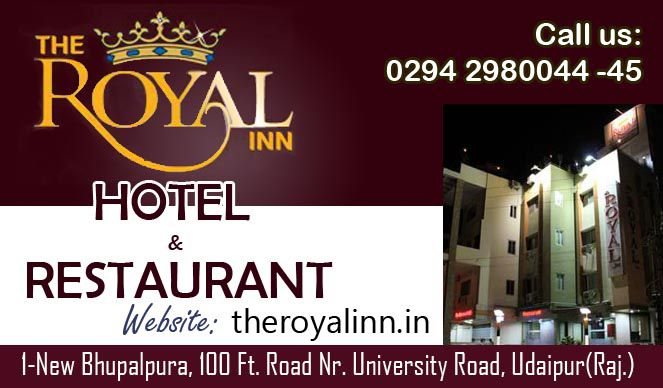 Royal Inn Hotel | Best Accommodation Services In Udaipur | Guest House in Udaipur