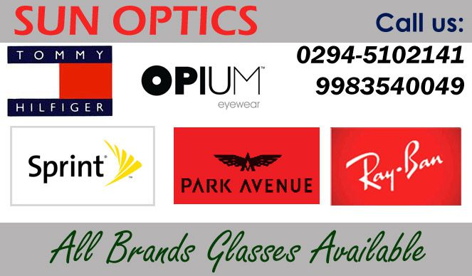 Sun Optics | Fashion Accessories shops in Udaipur | Best Optical Shops in Udaipur | Bag Dealers in Udaipur